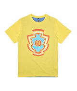 INSIGNIA TEE - YELLOW/BLUE