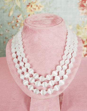 Satin Glow  Necklace