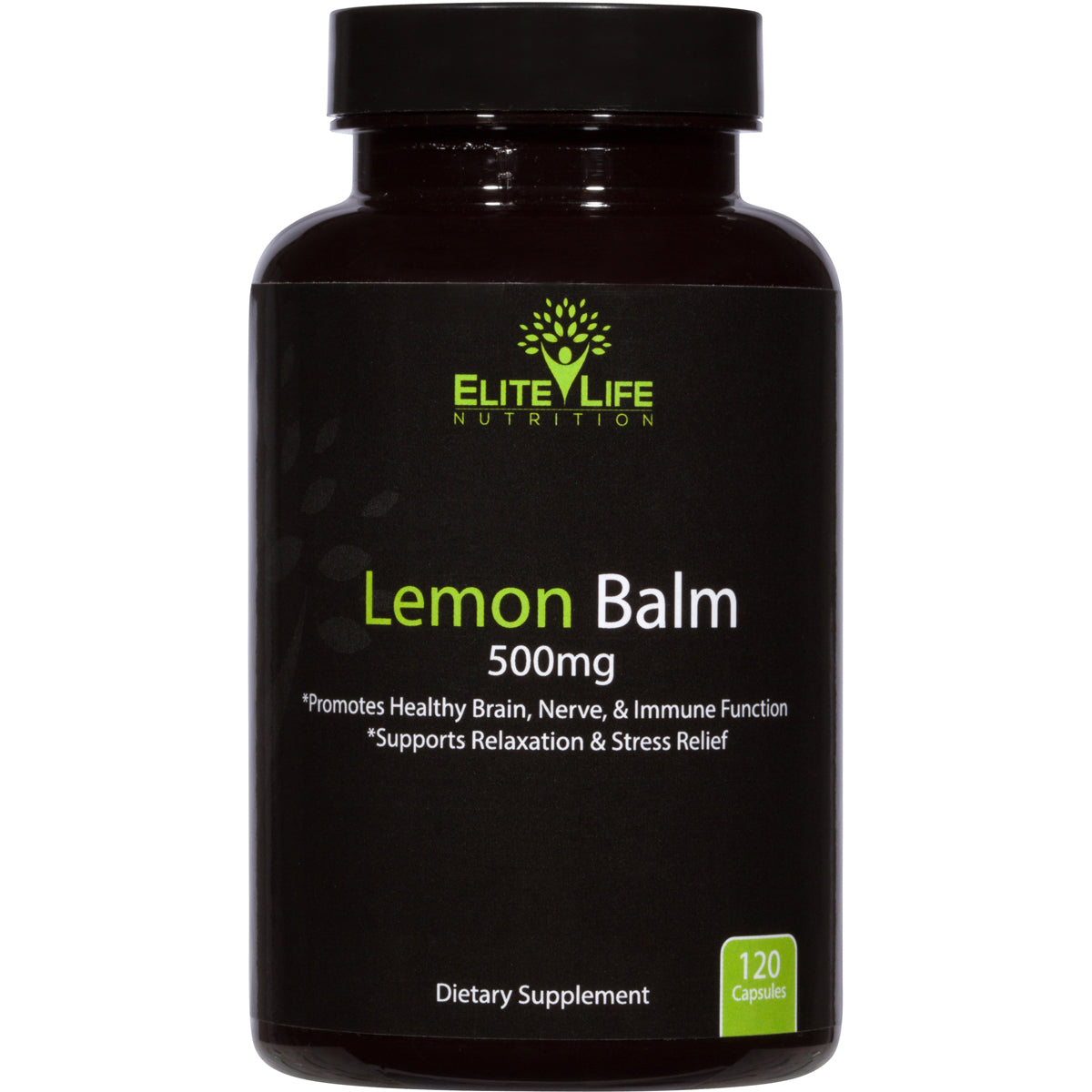 Pure Lemon Balm 500mg