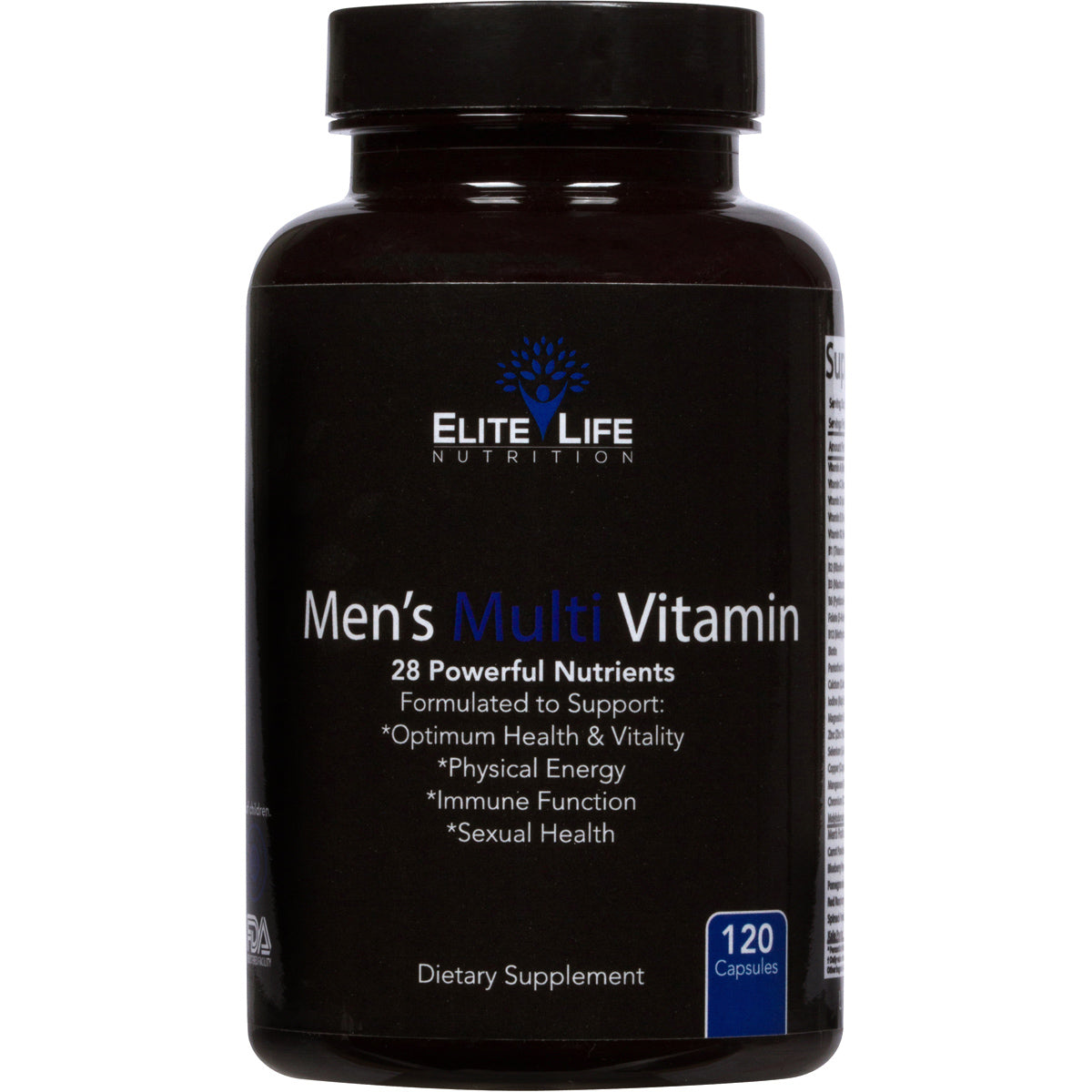 Men's Multi Vitamin - 28 Powerful Nutrients, Vitamins, and Minerals