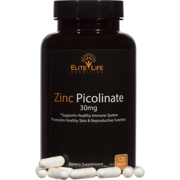 Pure Zinc Picolinate 30mg