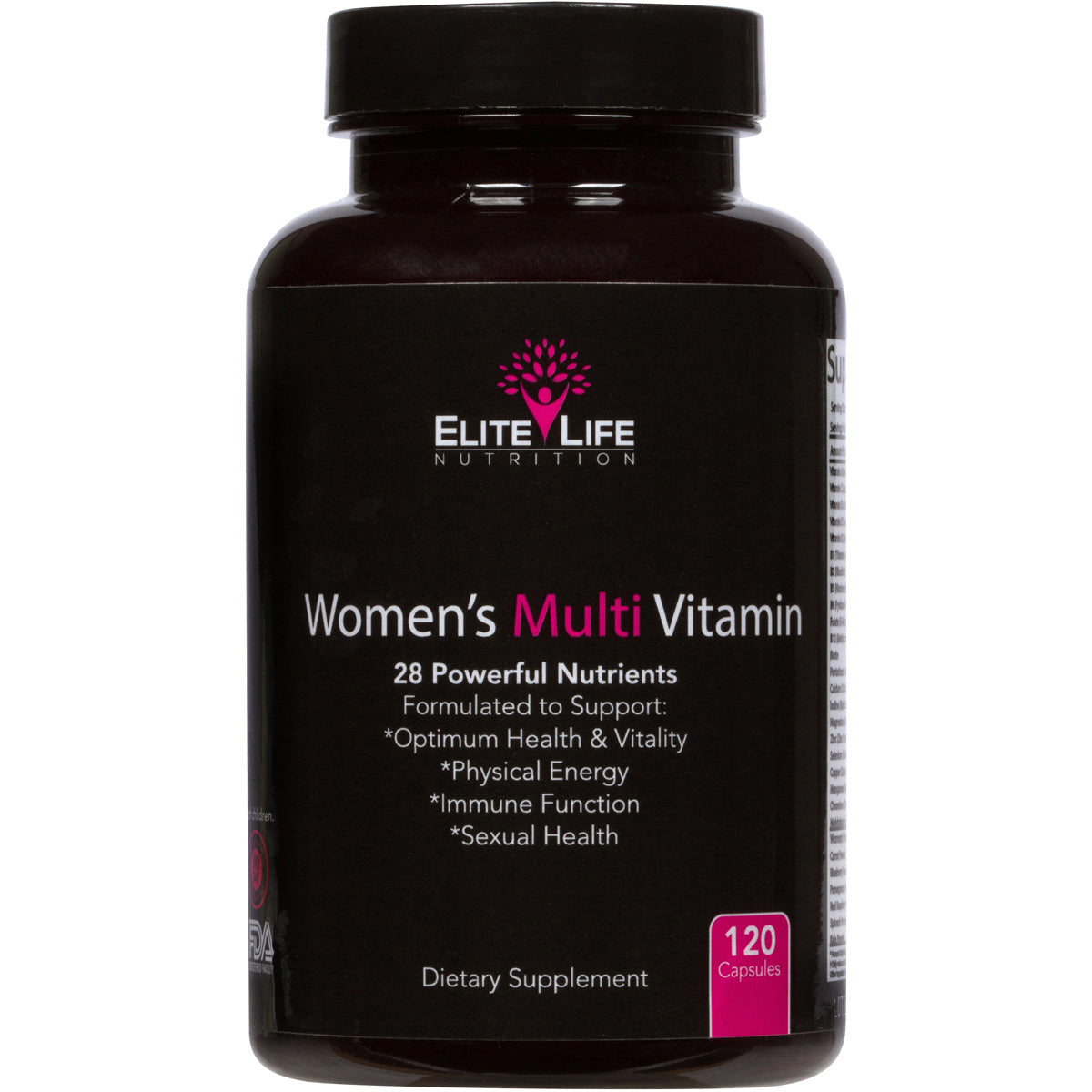 Women's Multi Vitamin - 28 Powerful Nutrients, Vitamins, and Minerals