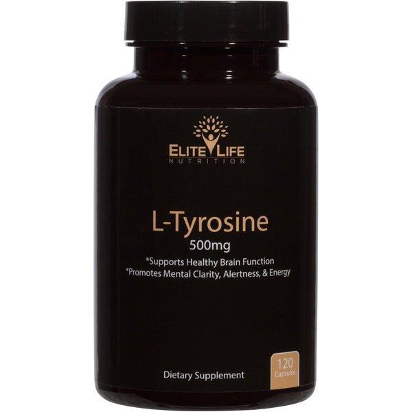 Pure L-Tyrosine 500mg