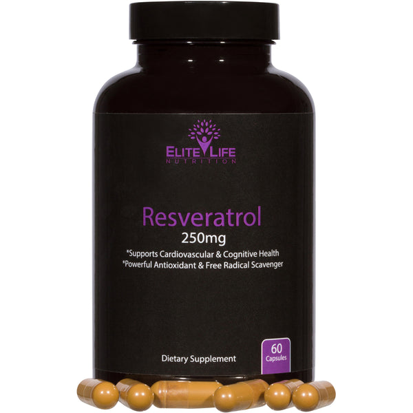 Pure Resveratrol 250mg
