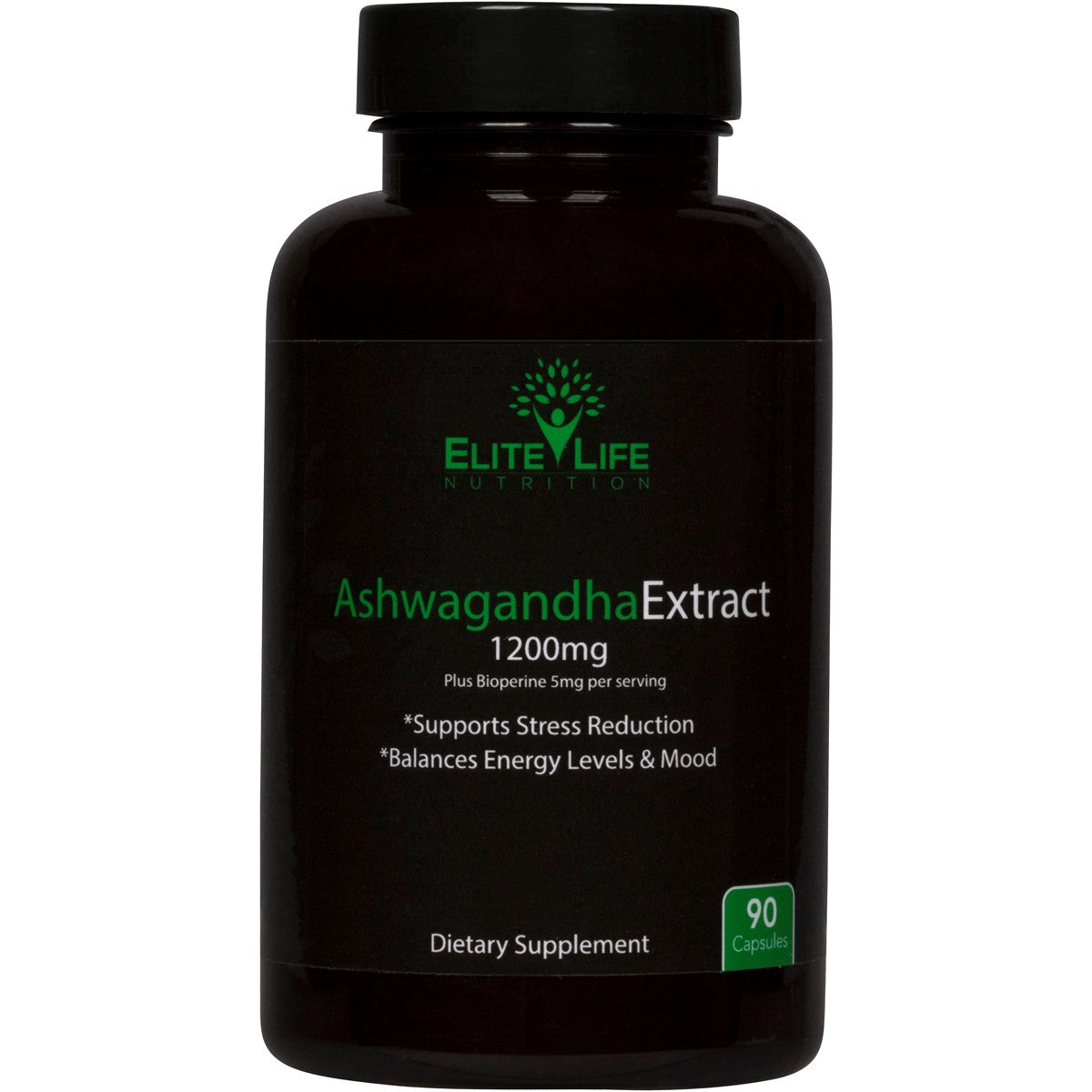 Pure Ashwagandha Extract 1200mg - With Bioperine 5mg