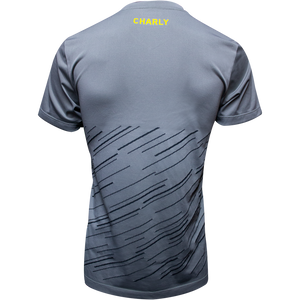 PLAYERA CHARLY CONCENTRACION GRIS HOMBRE