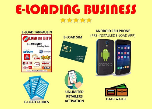 E-Loading Business with Android Phone Package