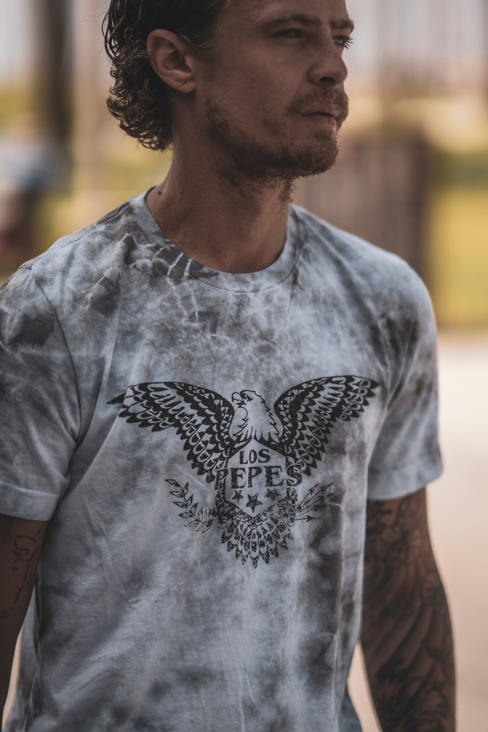 LP Eagle Tie-Dye Tee - Mens