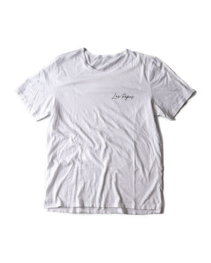 LP Distressed Split Hem Tee - Mens