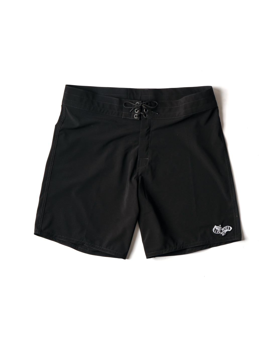 Birdwell x Los Pepes Men's 808 Board Short - Black
