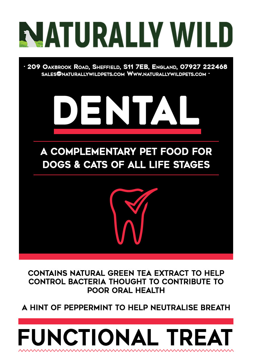 Dental Care - Cat & Dog Functional Treats