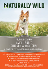 Super Premium Small Bite Chicken & Rice Complete Food