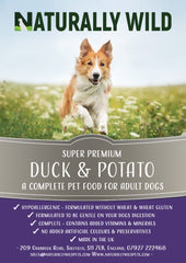Super Premium Duck & Potato Complete Food