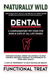 Dental Functional Treats for your cat or dog: 70g