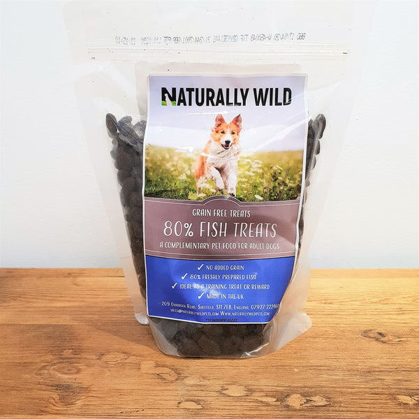 Grain Free 80% Fish Dog Treats