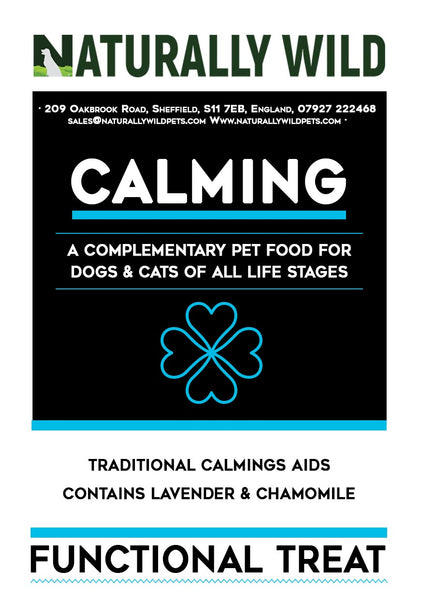 Calming Functional Treats for your cat or dog: 70g