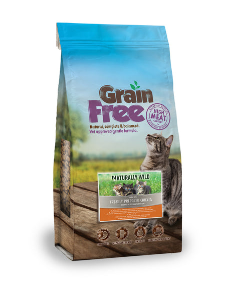 Grain Free Freshly Prepared Chicken For Kittens  - 2kg or 7.5kg
