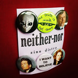 X-Files Button Pack