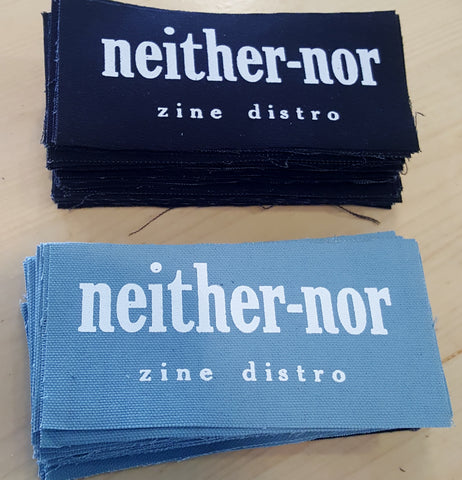 Neither/nor Canvas Patch