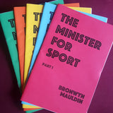 Minister of Sport (zine bundle)