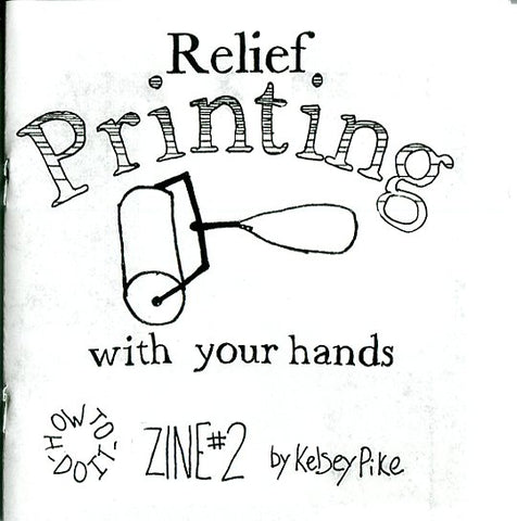 Relief Printing With Your Hands