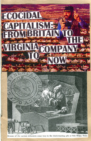 Ecocidal Capitalism: From Britain to the Virginia Company to Now