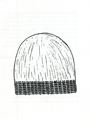Untitled (Knitting Zine: Hats)