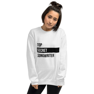 Top Secret Songwriter- Unisex Sweatshirt (Black)