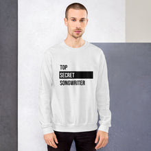 Load image into Gallery viewer, Top Secret Songwriter- Unisex Sweatshirt (Black)
