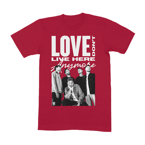RED LOVE DON'T T-SHIRT