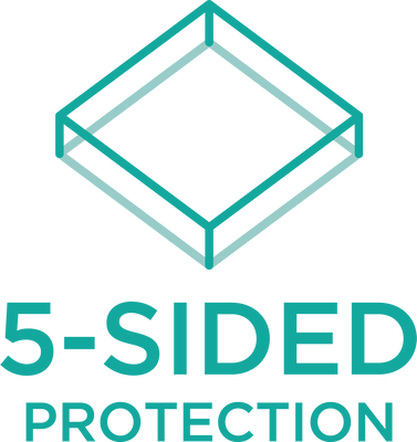 5 Sided Protection | Fusion Waterproof Sheet Set