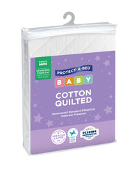 Cotton Quilted Fitted Cot Protector | Sleep Corp Healthcare