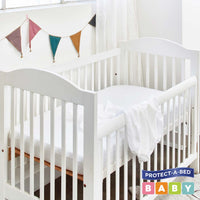 Bamboo Jersey® Fitted Cot Protector | Sleep Corp Healthcare