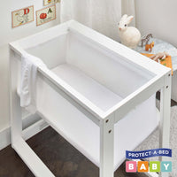 Cotton Terry Fitted Bassinet Protector | Sleep Corp Healthcare
