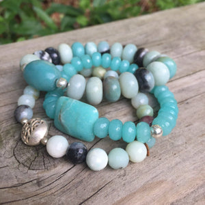 Stretchy Stacker Bracelet | Turquoise Blue Design Co.