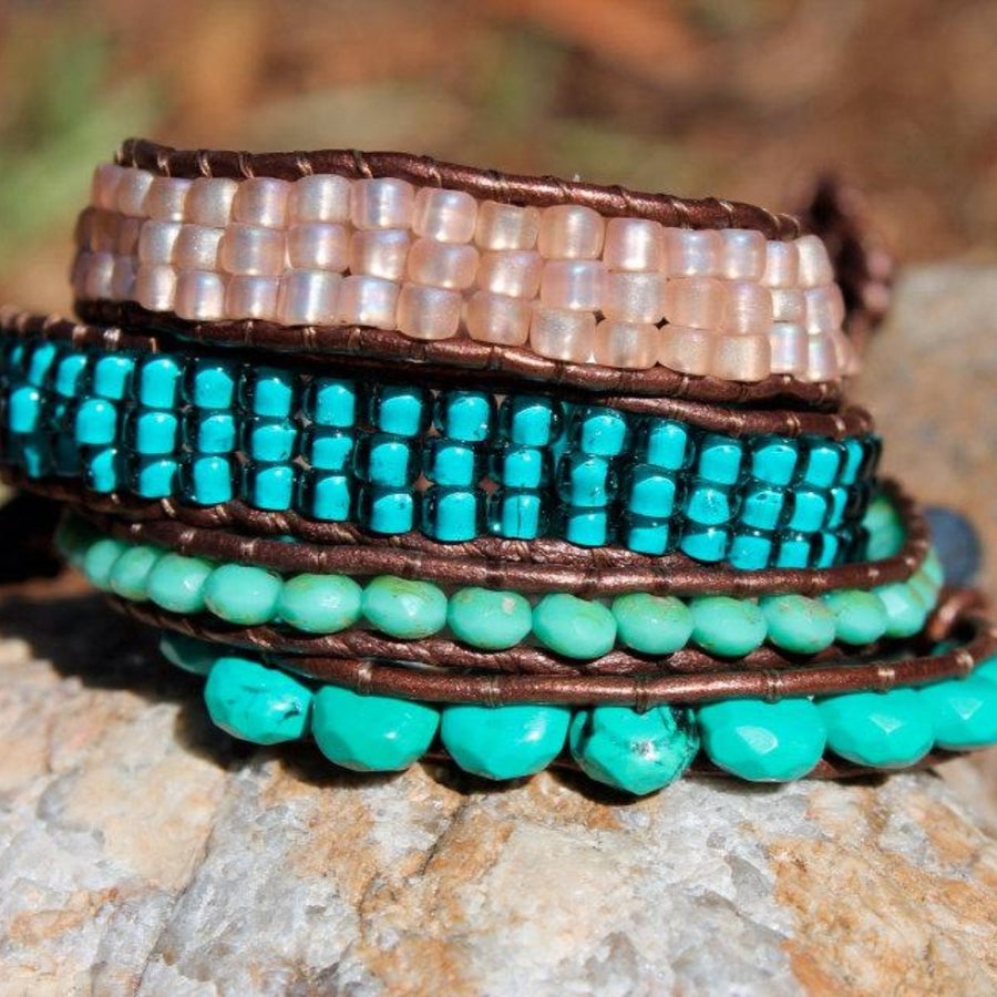 The Turquoise Strength Bracelet | Turquoise Blue Design Co.