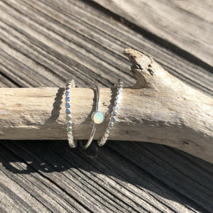 Opal Stacking Ring | Turquoise Blue Design Co.