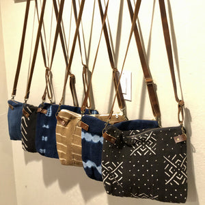 Indigo Dreams Small Crossbody Purse