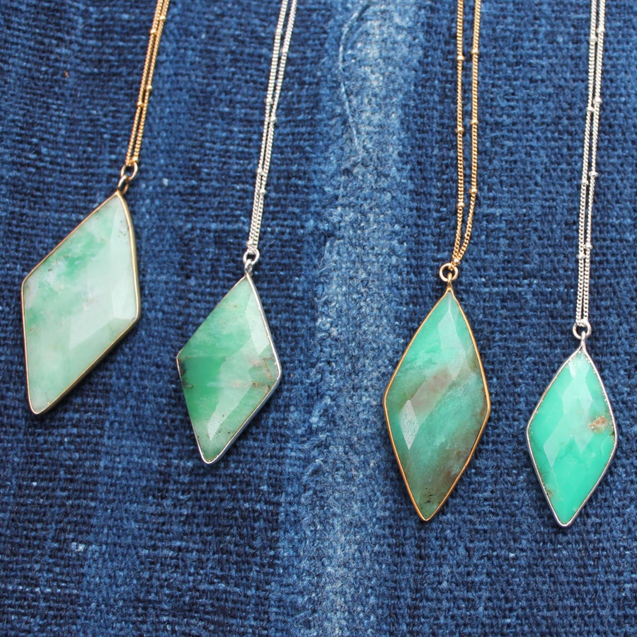 Stone Necklace| Turquoise Blue Design Co.