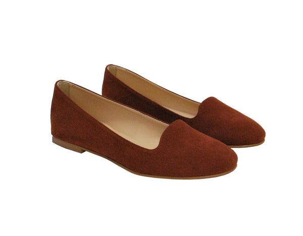 Vesta Rust Loafers