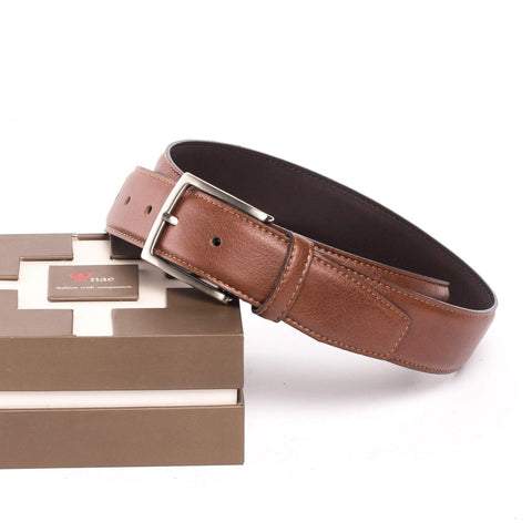 TOSSA - UNISEX BELT WITH A SILVER BUCKLE
