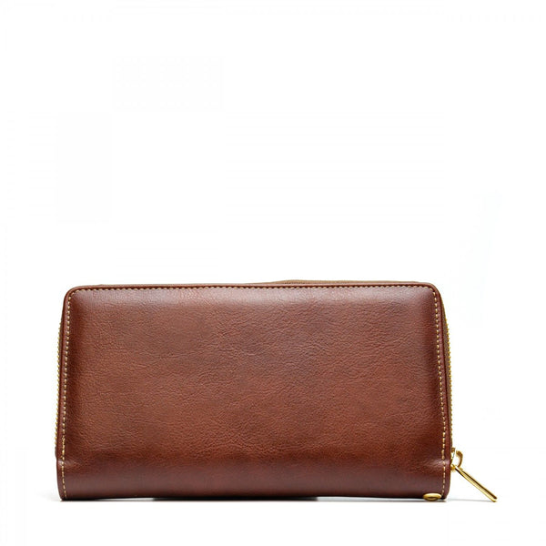 MIA - BROWN WALLET WITH CARD SLOTS