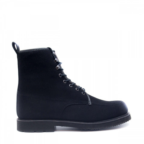 ANDRE BLACK - SHORT BOOT WITH LACES