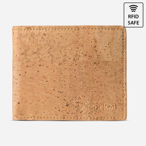 BIFOLD WALLET FOR MEN-LIGHT BROWN