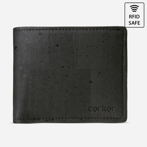 BIFOLD WALLET FOR MEN-BLACK