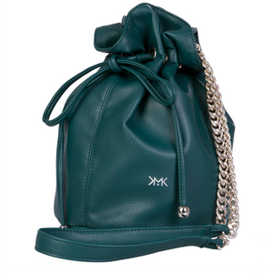 Paris Happy purse bag dark green