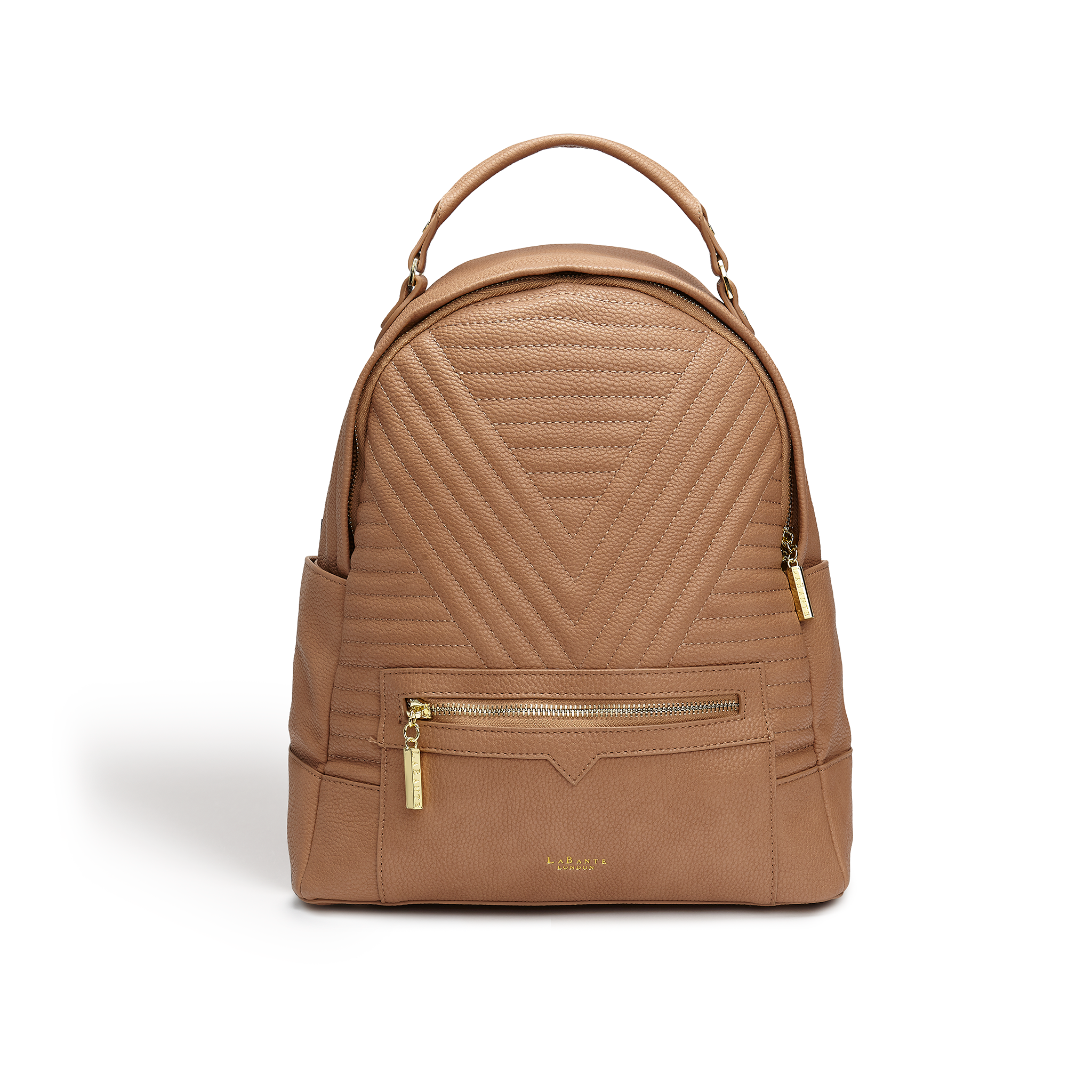 Camberwell Brown Quilted Backpack