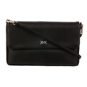 Black Flo clutch bag