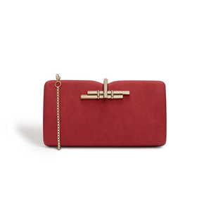 Allegro Red Clutch Bag
