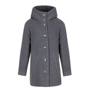 Mouse grey Cappa coat
